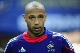 The former Arsenal and Barcelona striker Henry, who has 15 million followers across Facebook, Instagram and Twitter [File: AFP]
