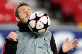 'Timeless' Beckham to face Rooney
