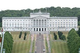A total of 88 members of Northern Ireland's assembly supported the move, with 17 voting against [EPA]