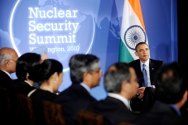 Obama wants all nuclear materials worldwide to be secured from theft within four years [AFP]