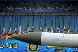 US officials say they are confident they could defend against an Iranian missile strike [AFP]