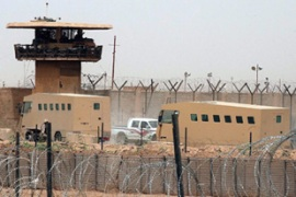 Four alleged terrorists escaped from a prison which the US recently handed to Iraqi forces [EPA]