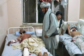 Most of the casualties were adult men and some were young children, Kandahar's governor said [AFP]