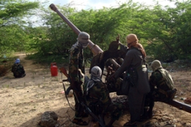 Al-Shabab fighters have declared a 'final, massive war' against the Somali government [AFP]