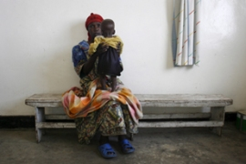 The UN says at least 5,400 women in the DRC are believed to have been raped in 2009 alone [EPA]