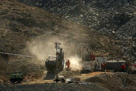 Chile mine rescue drilling begins