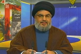 Hassan Nasrallah said his group can helpin securing the deal [AFP]