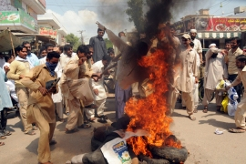 Quran burning threat fuels protests