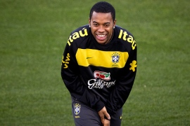 Rossoneri snap up Robinho