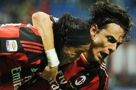 Milan struggle to draw at San Siro