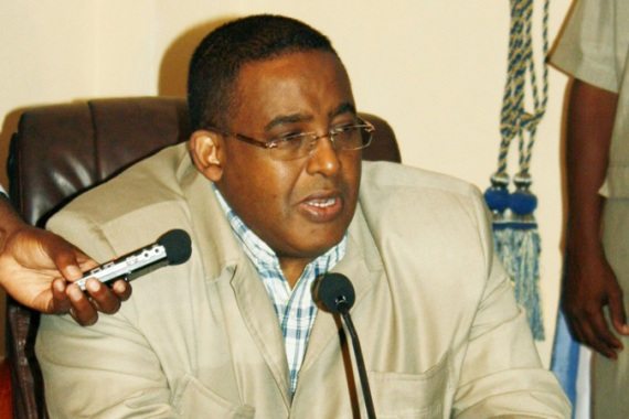 Sharmarke announced his resignation after  weeks-long dispute with the president, Sharif Sheikh Ahmed [AFP]