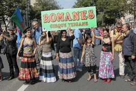 Euro MPs slam French Roma policy