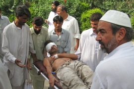 Deaths in Pakistan suicide attack