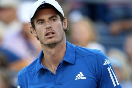 Murray out in third round