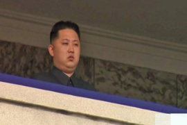 N Korea stages anniversary parade