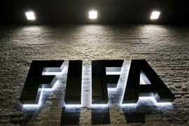 Fifa suspends two over 'bribery'