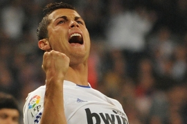 Ronaldo scores four in Real rout