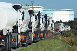 French fuel blockades lifted
