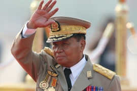 Myanmar ruler 'not running in poll'