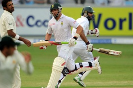 S Africa pile on the runs