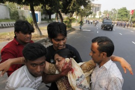 Unrest rocks Bangladesh capital