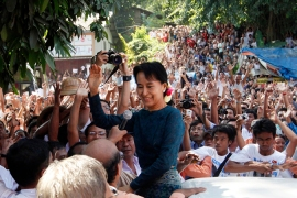 Myanmar's winds of change