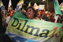 Brazil votes in first female leader