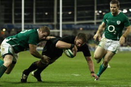 All Blacks overcome Ireland