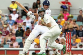 Cook and Strauss revive England