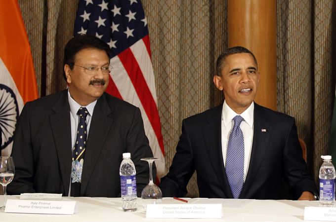 Obama urged India to relax trade and investment barriers in order to boost economic relations [Reuters]