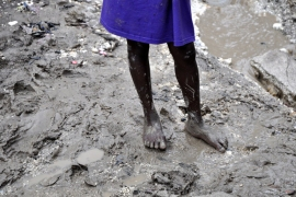 In addition to dealing with a cholera outbreak, heavy rains have drenched many outlying regions of Haiti, effectively worsening what are already unsanitary conditions in many areas [Jet Belgraver]