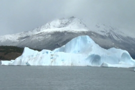 Argentina glacier under threat