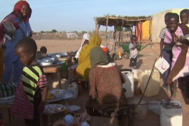 Darfur camp 'overrun by rebels'