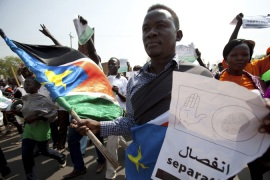 South Sudan party backs secession