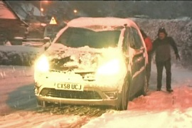 Snow sparks travel chaos in Europe