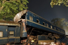 Deaths in Bangladesh train crash