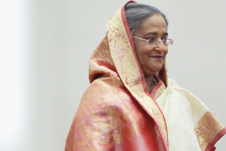 Sheikh Hasina Wajed led the secular Awami League party to a landslide victory in Bangladesh(***)s December 2008 general elections, to win her second term as prime minister [GALLO/GETTY]
