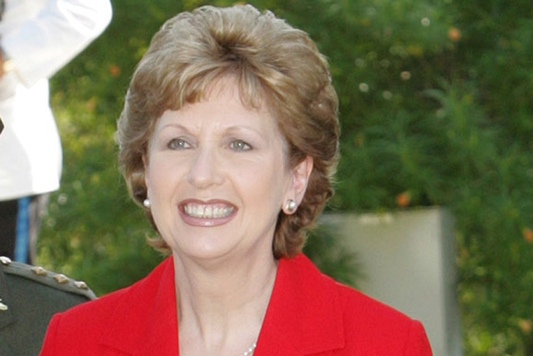 Mary McAleese, Ireland(***)s second female president, is currently serving her second term, which she won in 2004 [EPA]