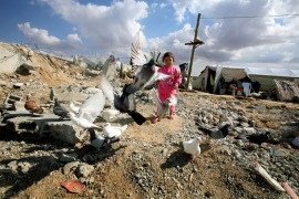 After six months of ceasefire, reconstruction has stalled in the Gaza Strip and hundreds of thousands remain homeless [EPA]