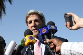 Kerry urges Libya no-fly zone plan