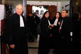 Thousands of Tunisia lawyers strike