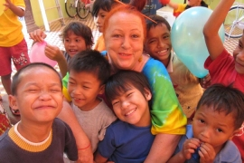 Cambodia's orphan tourism
