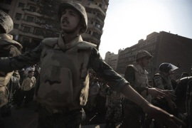 Egyptian bloggers rally against military