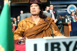 Gaddafi has lost it …