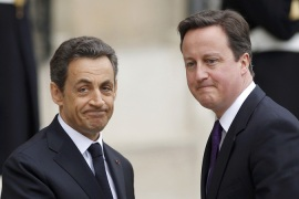 Sarkozy tells Cameron to 'shut up' over euro