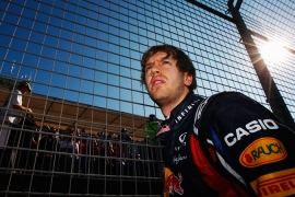 Champion Vettel wins in Melbourne