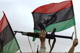 Two sides of Libya's conflict