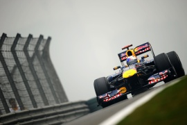 Vettel leads the way in Shanghai