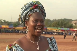 Women vie for votes in Nigeria
