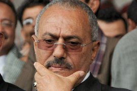 Reports: Saleh refuses to sign exit deal
